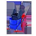 Úklidové a servisní vozíky